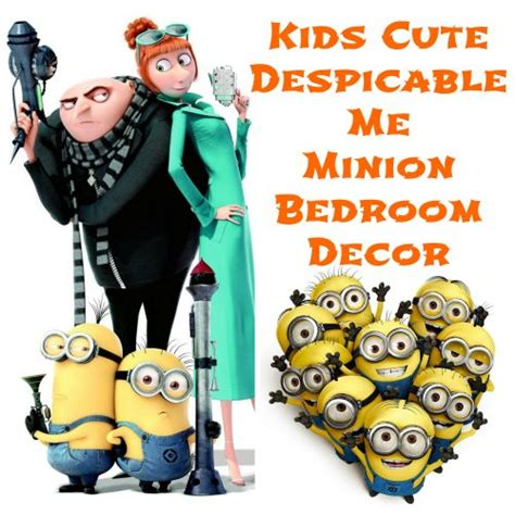 despicable me bedroom accessories pinterest the world s catalog of ideas