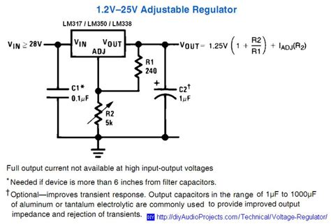 calculate resistor lm317 adjustable voltage regulator resistor divider calculator 28 images lm317 step voltage module