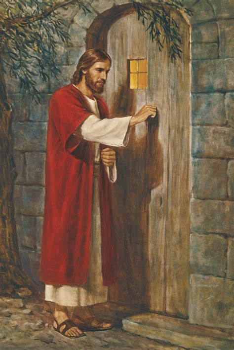 Free Picture Of Jesus Knocking At The Door by Jesus At The Door Jesus Knocking At The Door