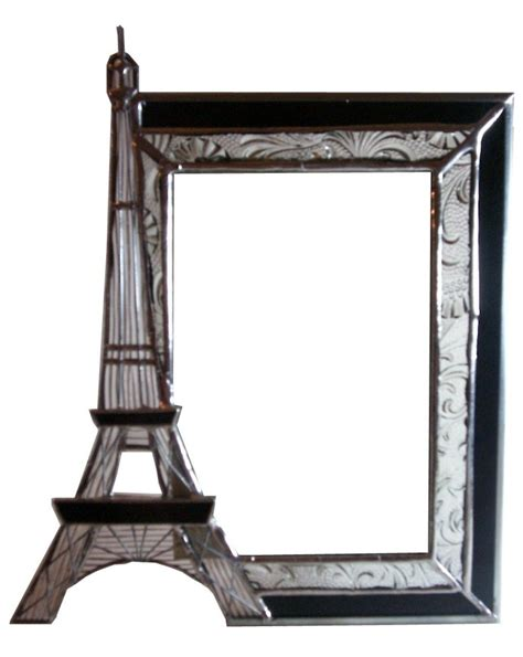 eiffel tower picture frame unique vintage styled design