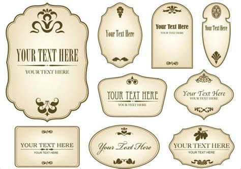 antique labels template 12 vintage bottle label templates free printable psd