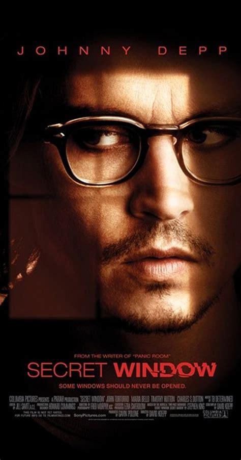 film secret window adalah secret window 2004 trivia imdb