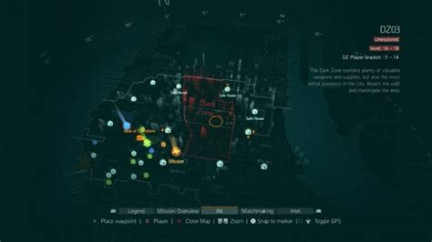 Tom Clancys The Division Requires the division zone tips and tricks
