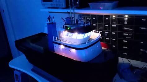 rc boat using arduino rc boat lighting system using an arduino nano youtube