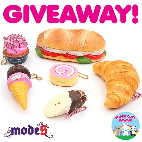modes 4 u squishy modes4u squishies giveaway closed kawaii