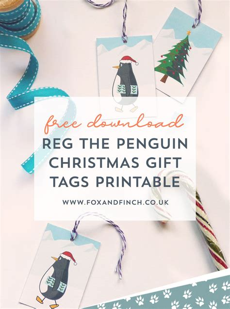 top christmas gifts 2018 fox news reg the penguin gift tags printable fox finch