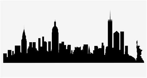 new york skyline png clipart best