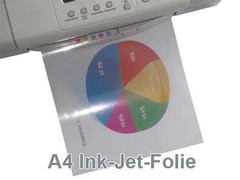 Folie Drucken Mit Tintenstrahldrucker by Tintenstrahldrucker Folien B 252 Rozubeh 246 R