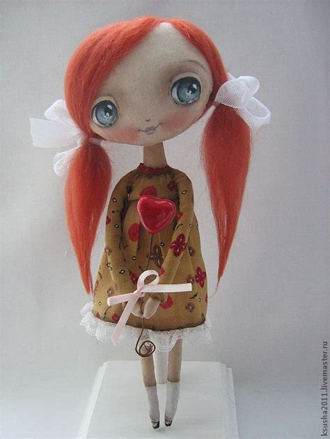 Images Of Handmade Dolls - handmade dolls by oksana dadiani