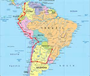 show a map of south america map of south america gallivanting