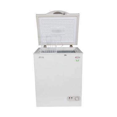 Jual Freezer Daging Second jual daimitsu dicf 228 freezer box putih 210 l