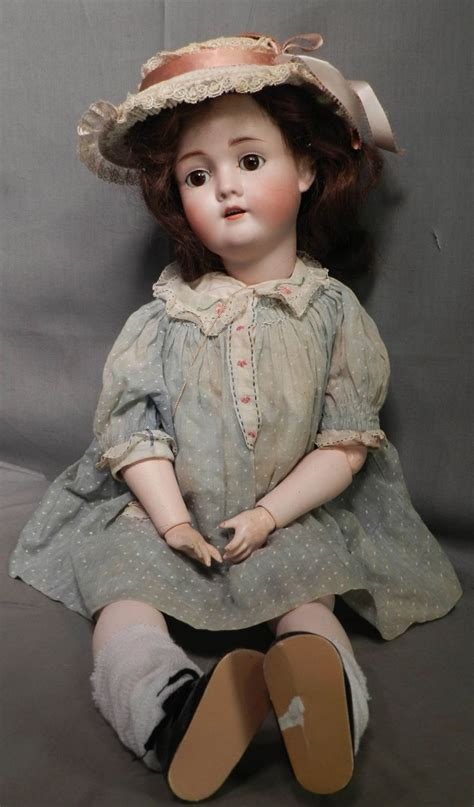 what is a bisque doll antique k h kley hahn walkure germany bisque doll jointed