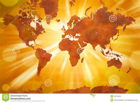 world continents map stock illustration illustration