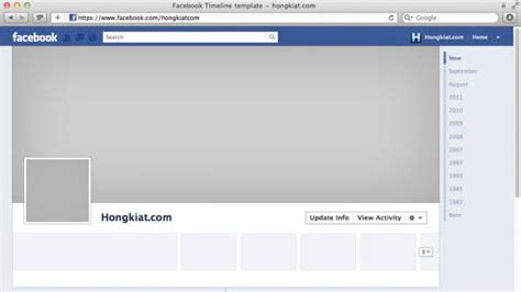 facebook cover layout template facebook timeline cover 40 really creative exles
