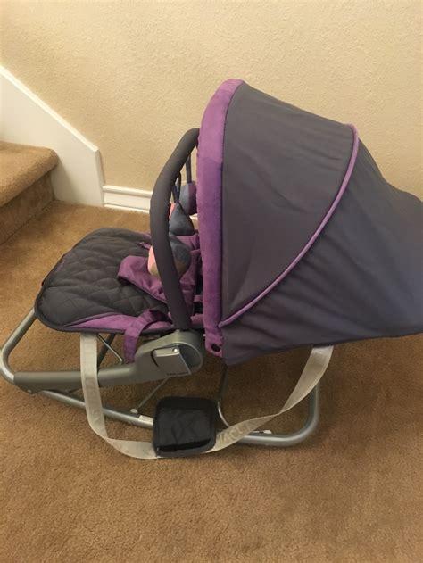 mclaren baby rocker maclaren baby rocker or chair color is charcol majesty