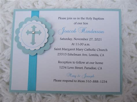 Christening Invitations Handmade - 1000 images about craft ideas invitations on