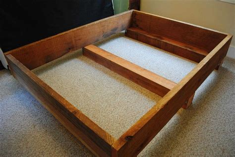 how to diy bed frame plans a few simple tips