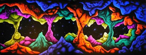 Wall Paper Mural uv space cave backdrop