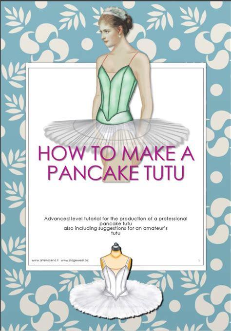 pin the tutu on the ballerina template pancake tutu patterns plus tutorial pinteres