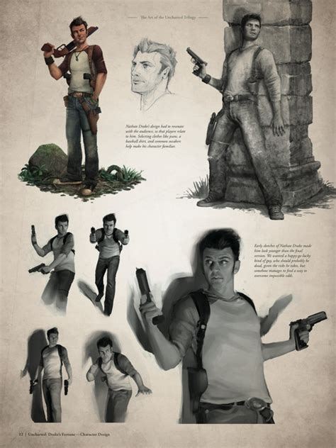 the art of uncharted the art of the uncharted trilogy hc profile dark horse comics
