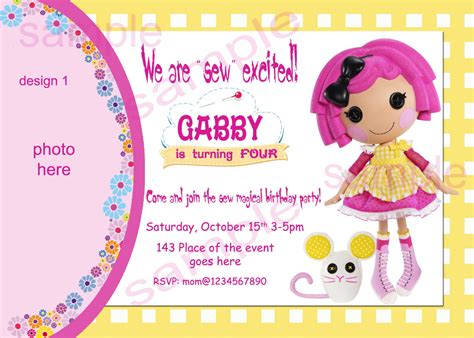 lalaloopsy party invitations template best template 6 wonderful lalaloopsy party invitation template