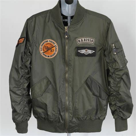 pilot jackets for sale mens u s army military classic bomber flight jacket pilot