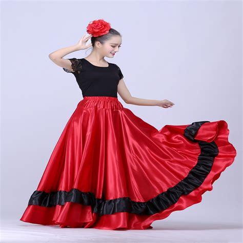 Dress Spanyol flamenco skirt belly skirt clothing