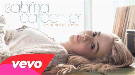 Sabrina Carpenter Wide Eyes Open | sabrina carpenter archives limitless lyrics