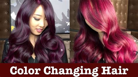 chagne hair color color changing hair