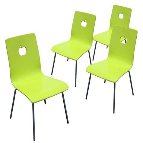 chaise de cuisine vert anis