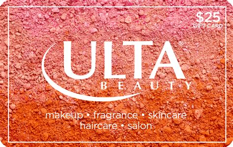 Who Sells Ulta Gift Cards - ulta beauty 25 gift card giftcardmall com