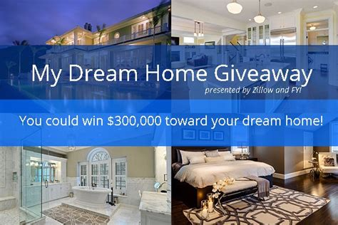 Home Sweeper Sweepstakes - zillow dream home 300 000 giveaway sweepstakesbible