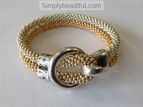 ring kits jewelry kumihimo ring hook metallic bracelet kit simply beadiful