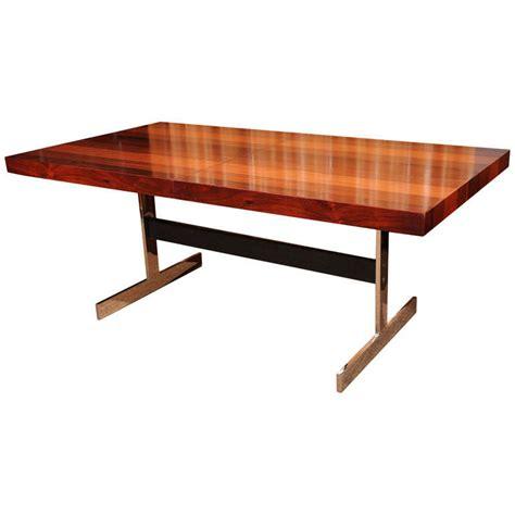 milo baughman dining table dining table milo baughman chrome dining table