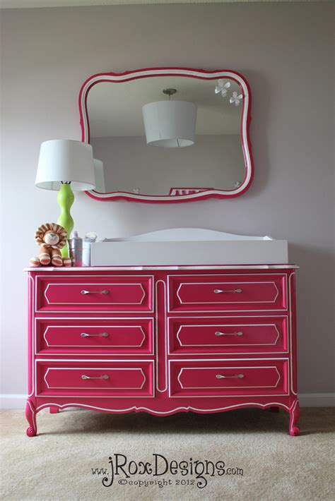 custom painted provencal dresser nursery tuesday jroxdesigns