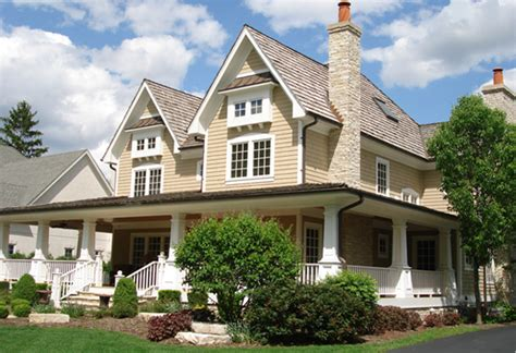 2 Story House Plans With Wrap Around Porch G O Architectural Design Custom Homes Portfolio