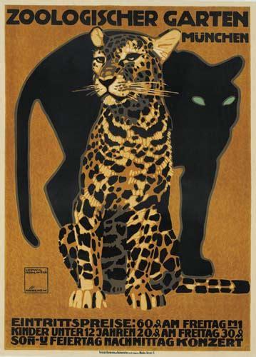 zoologischer garten post zoologischer garten panther we buy posters