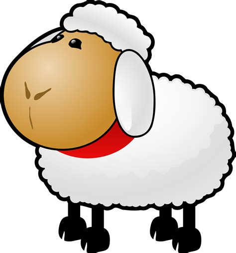 animal clipart free sheep clipart illustration