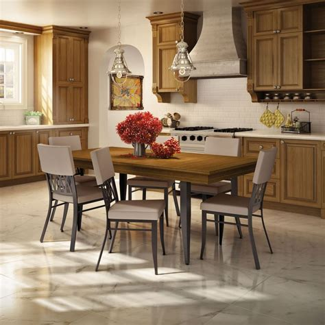 traditional kitchen table sets amisco oxford chair 30510 furniture kitchen