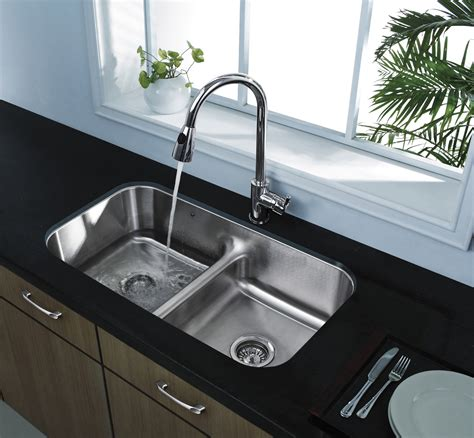 undermount stainless steel kitchen sinks home depot