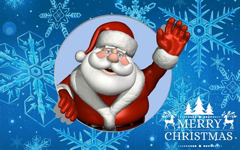 merry christmas greeting card  santa claus desktop backgrounds  wallpaperscom