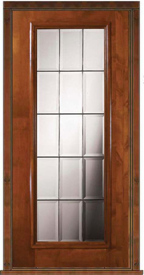 Patio Single Door by Prehung Exterior Single Door 80 Alder Lite