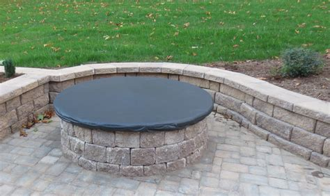 Fire Pit Cover Equip Home Fitness Outdoor Firepit Cover