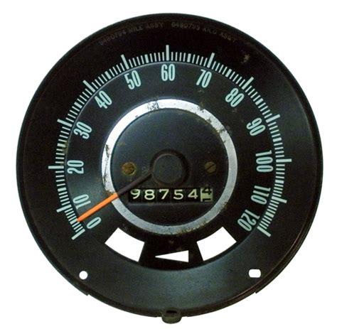 Speedometer Assy Verza Original Ahm 1967 firebird dash speedometer original gm used