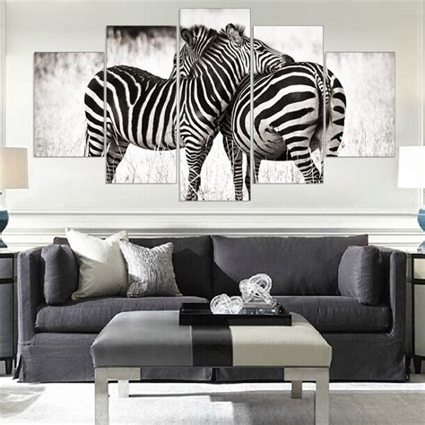 zebra print home decor 28 images paint your day with mordern canvas painting zebra frameless animal art poster