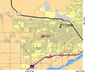 Montana Zip Code Map by 59102 Zip Code Billings Montana Profile Homes