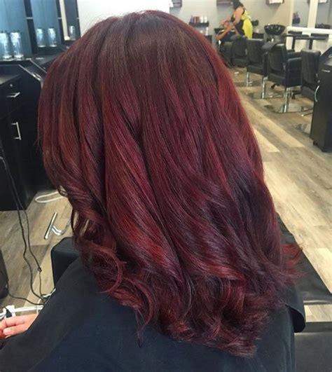 stunning dark red hair color ideas bright  elegant
