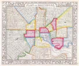 us map baltimore file 1860 mitchell map of baltimore geographicus