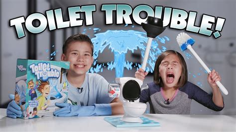 Toilet Trouble Challenge T0310 toilet trouble challenge w mo flush