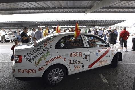 barcelona uber spain is trying to push uber out of the country drivers